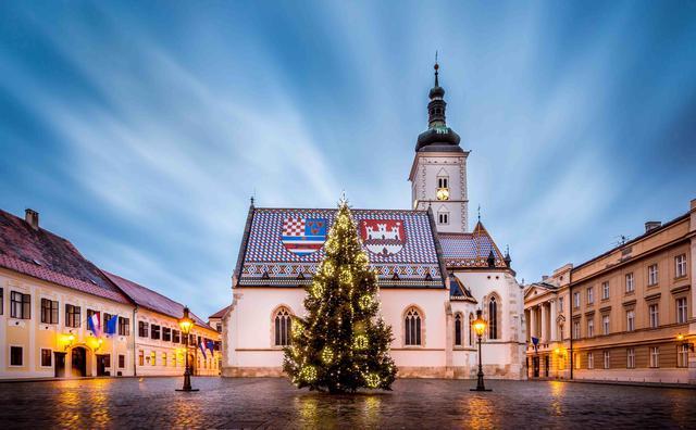 画像: クリスマスシーズンのザグレブ(イメージ)/@Julien Duval撮影