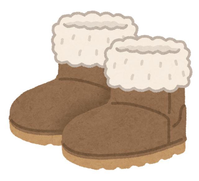 画像: 靴下とスノーブーツ