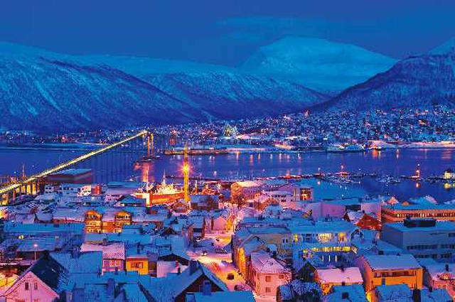 画像: 「北欧のパリ」トロムソの町並み/イメージ