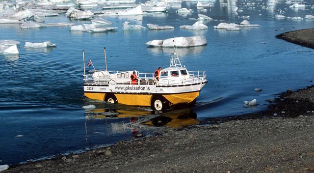 画像: 水陸両用車(イメージ/Viking提供)