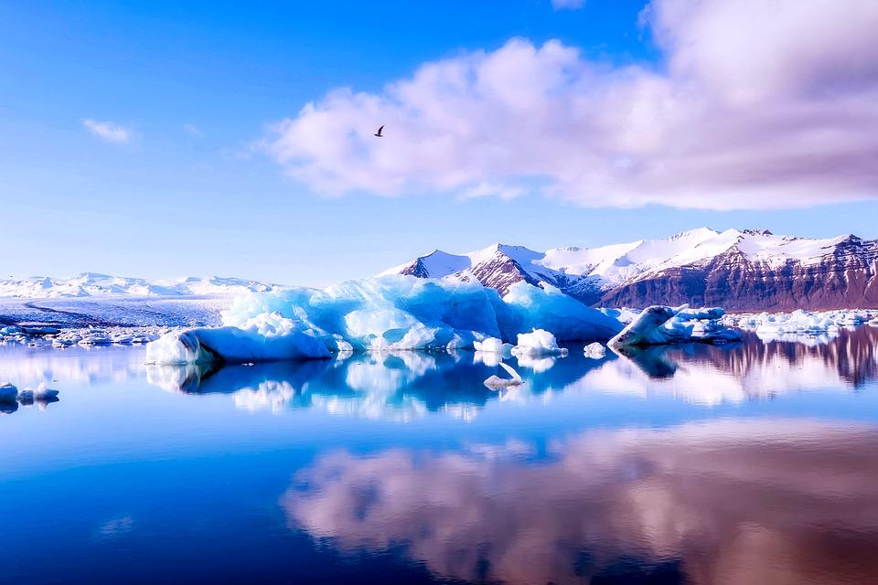 画像: ヨークルサルロン氷河湖(イメージ)