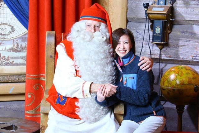 画像: サンタクロースとの写真撮影(購入は別途代金がかかります)