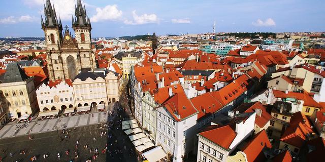 画像: プラハ旧市街(イメージ)/@TD阿部撮影