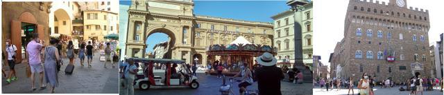 画像: フィレンツェ市内の様子/全て現地手配会社スタッフ撮影