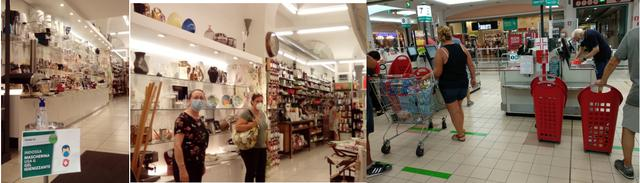 画像: フィレンツェ市内のお土産物屋とスーパーマーケット/すべて現地手配会社スタッフ撮影