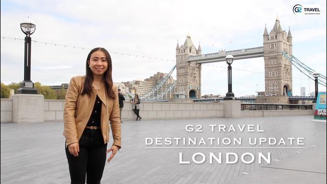 画像: G2 Travel Destination Update - London, United Kingdom www.youtube.