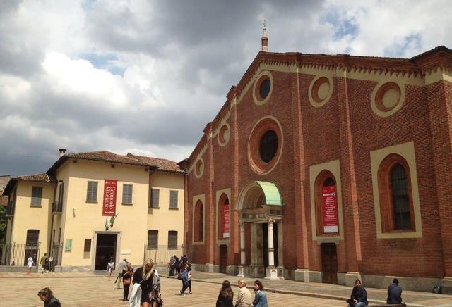 画像: ミラノにあるサンタマリア・デッレ・グラツィエ教会(弊社スタッフ 2017年7月撮影)