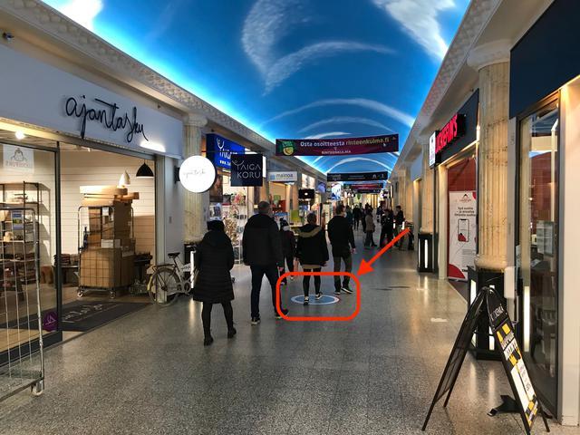 画像: ショッピングセンターレボントゥリ内 ©TUMLARE