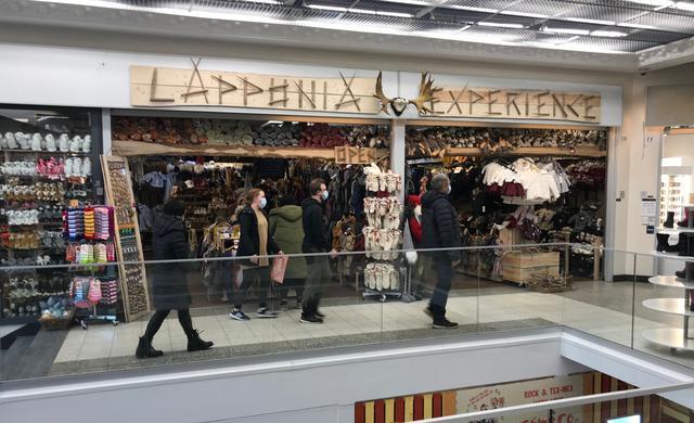 画像: ショッピングセンターレボントゥリ内 Lapponia Experience © TUMLARE