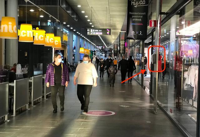 画像: ショッピングセンターレボントゥリ内 © TUMLARE