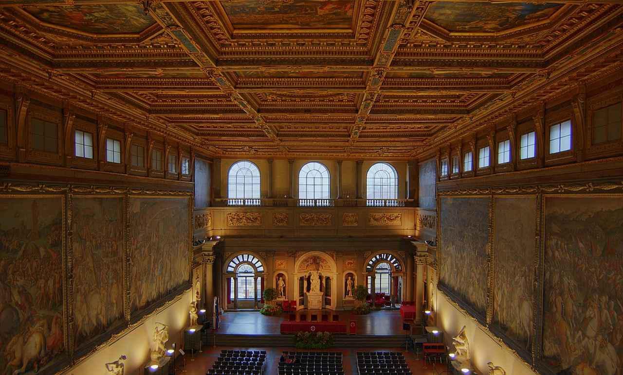 画像: ヴェッキオ宮殿 500人大広間