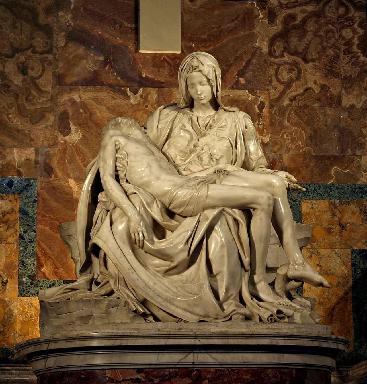 画像: サン・ピエトロのピエタ