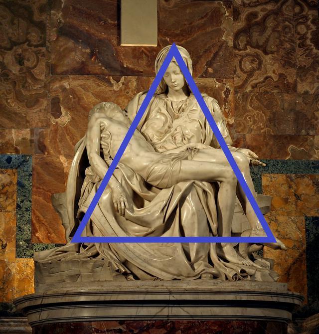 画像: ミケランジェロ「サン・ピエトロのピエタ」