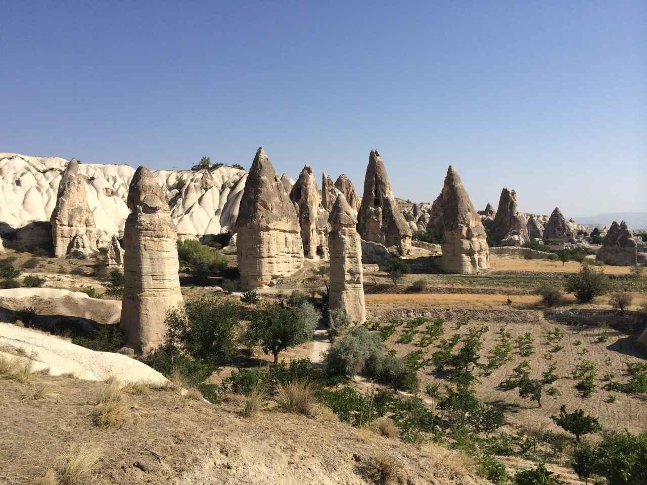 画像: ギョレメ国立公園とカッパドキアの岩石群(トルコ共和国)登録基準(ⅰ)(ⅲ)(ⅴ)(ⅶ) ©︎C-td