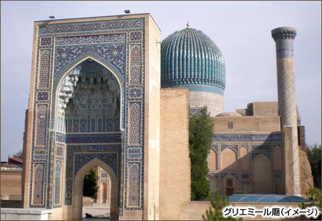 画像: (ウズベキスタン共和国)登録基準(ⅰ)(ⅱ)(ⅳ)