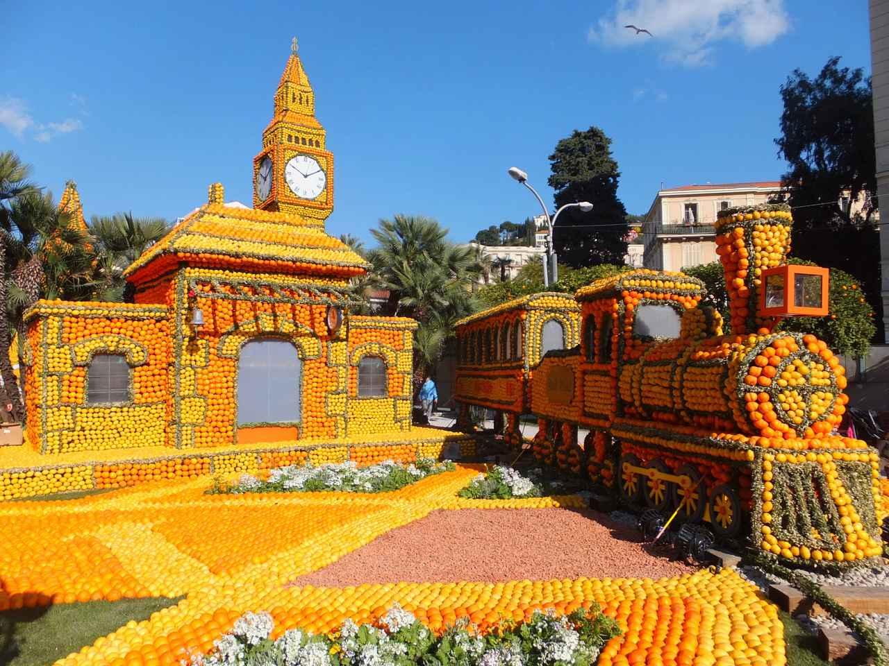 画像1: マントンのレモン祭り/イメージ