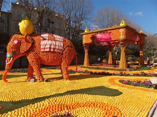 画像2: マントンのレモン祭り/弊社スタッフ撮影