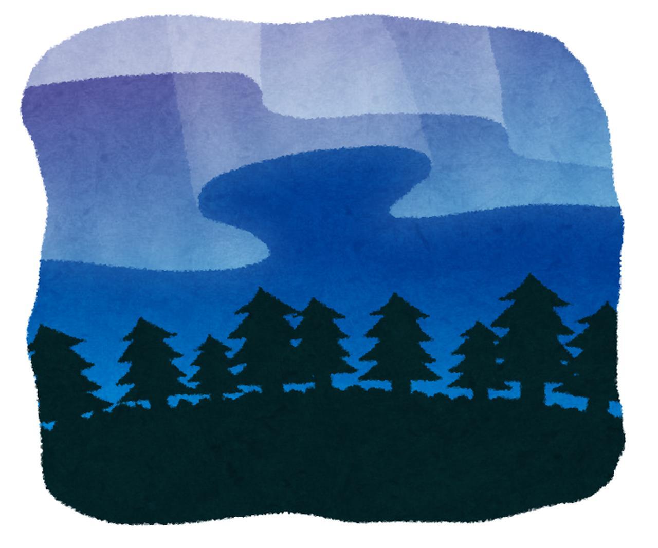 画像4: 夜を美しくする〇〇シリーズ<第5回>前編『夜空に広がる光の帯!感動のオーロラ ヨーロッパ編』【好奇心で旅する海外】<夜空の物語>