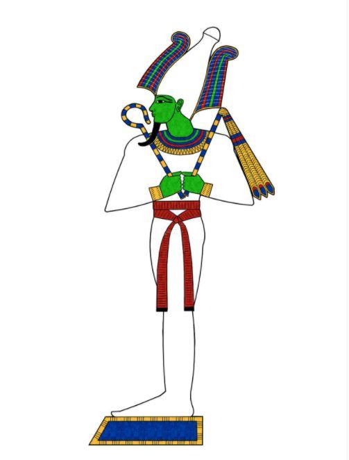 画像: オシリス神(イメージ)