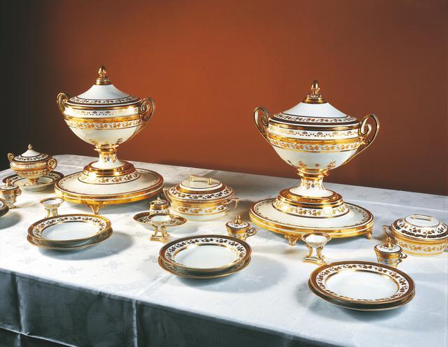 画像: ウィーン王宮内 宮廷銀器コレクション。オリオスープもこんな豪華なスープカップに入れられていたのかも @オーストリア政府観光局/Werbung_-Haller