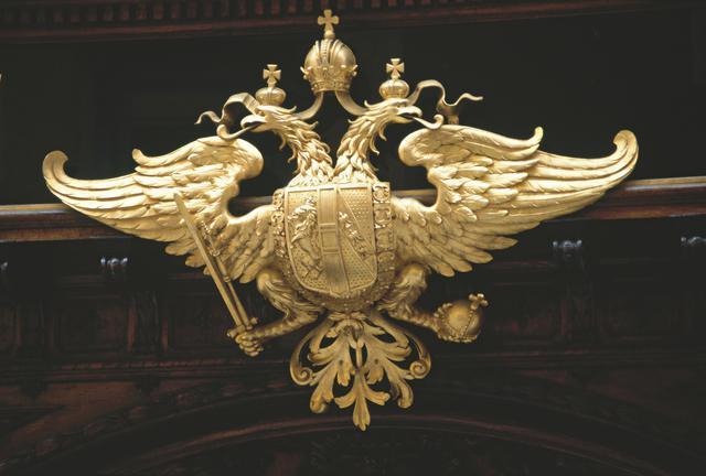 画像: ハプスブルク家の紋章「双頭の鷲」 @オーストリア政府観光局/Hans-Wiesenhofer