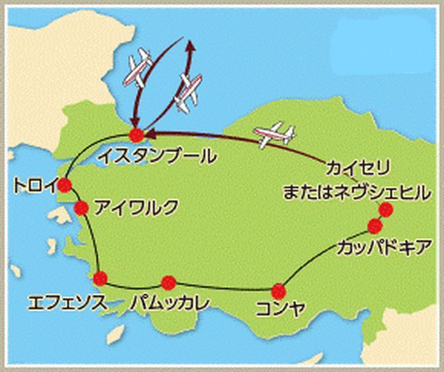 画像: 日本の約2倍の面積を誇るトルコ