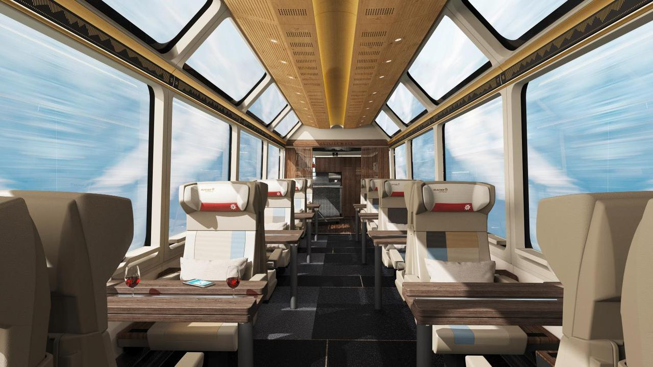 画像: 全席窓側となるゆとりの座席
