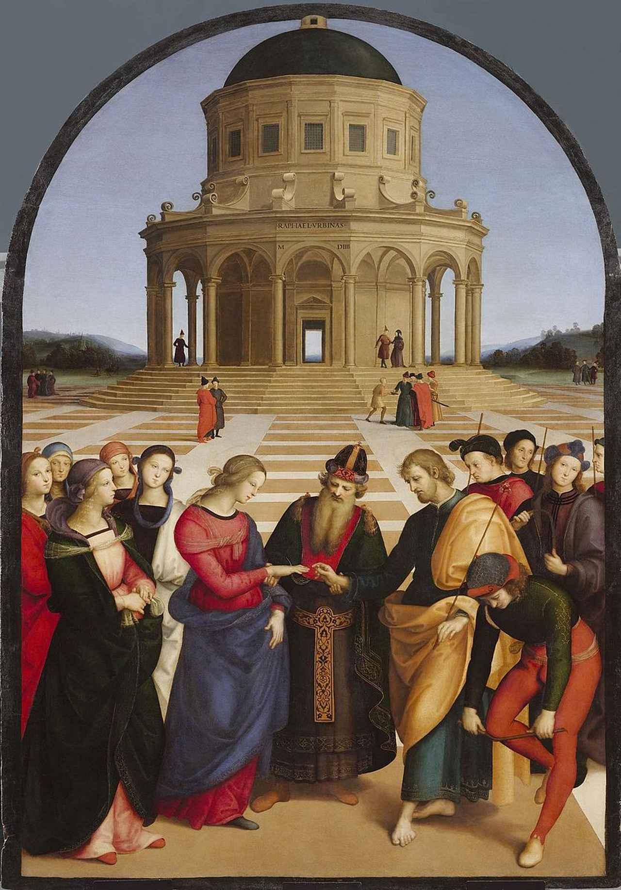 画像: 聖母の婚礼(1504年)