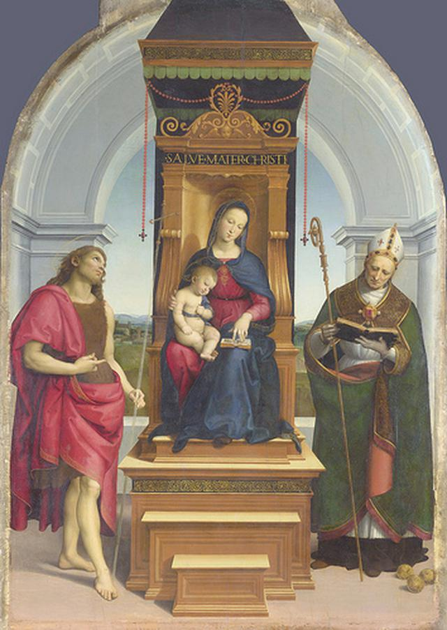 画像: アンシディ祭壇画(1505年頃)