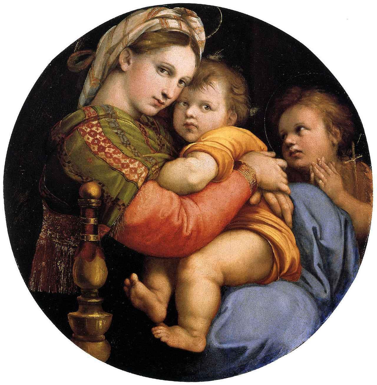 画像: 小椅子の聖母/ラファエロ