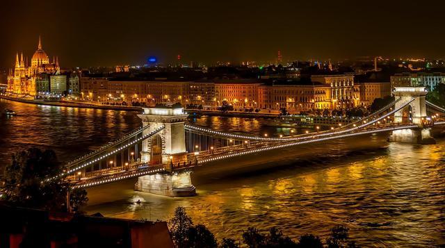画像1: ブダペストの夜景(イメージ)