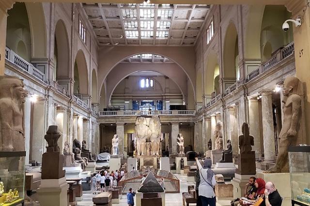 画像: エジプト考古学博物館©ワールドコンパス