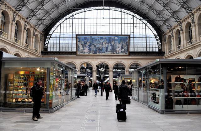 画像: パリ東駅に到着/ⒸPhil Beard
