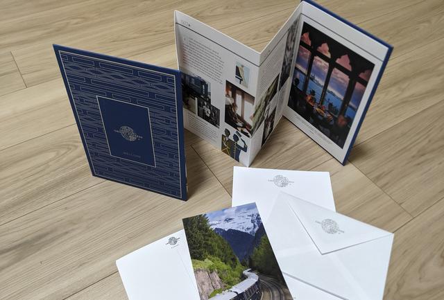 画像: 客室のレターセットはお土産にも/弊社社員撮影