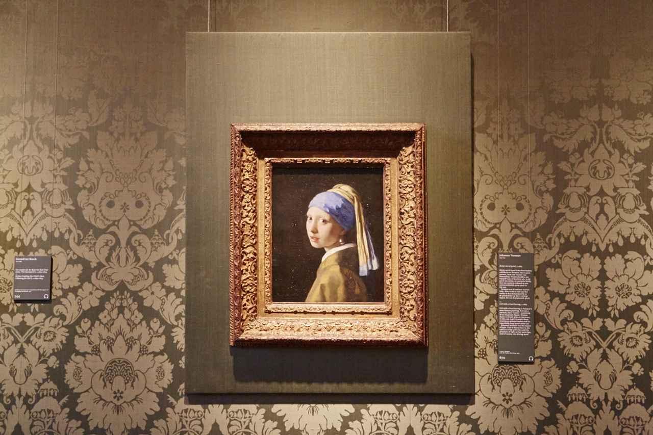 画像: フェルメール『真珠の耳飾りの少女』