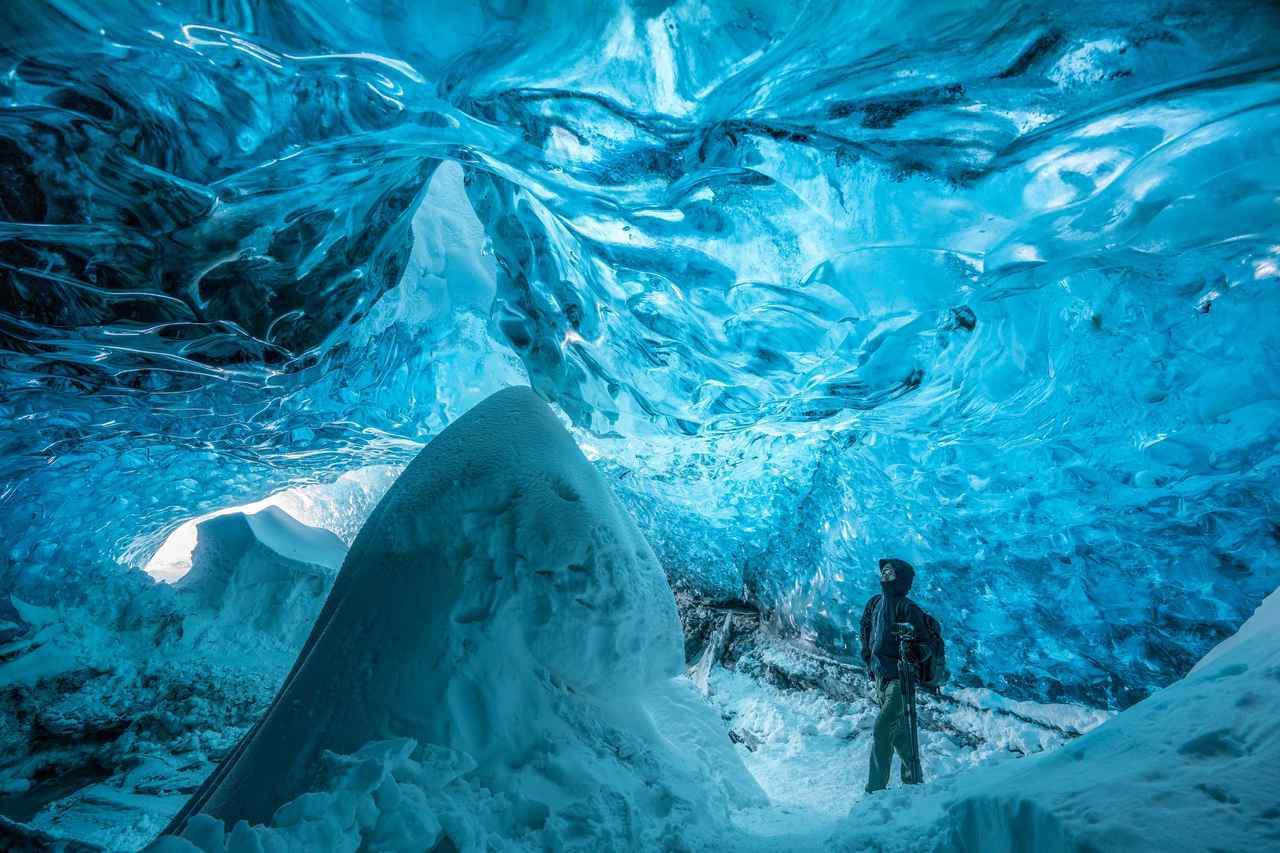 画像: 【アイスランド】サファイア・アイスケーブを見学するオンラインツアーを実施しました! - クラブログ ~スタッフブログ~|クラブツーリズム