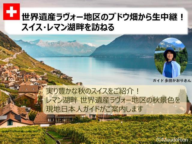 画像2: 【スイス】オンラインツアー開催しました『日本語ガイドが生解説!人気のスイスハイキングコースお散歩気分』