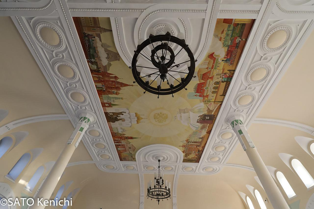 画像: ウラジオストク駅舎内(イメージ/©SATO Kenichi)