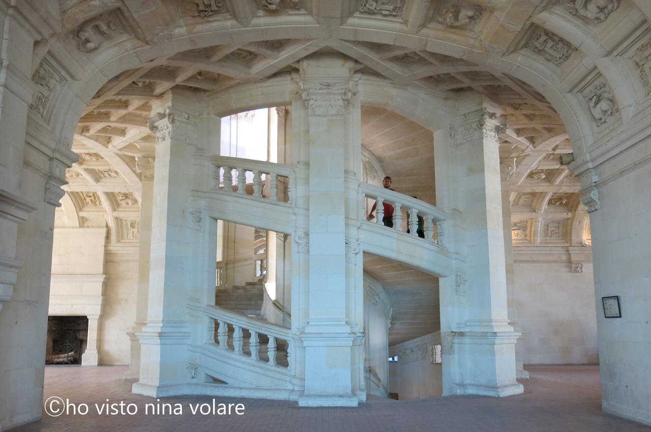 画像: ダヴィンチ設計と言われる螺旋階段(Ⓒho visto nina volare)