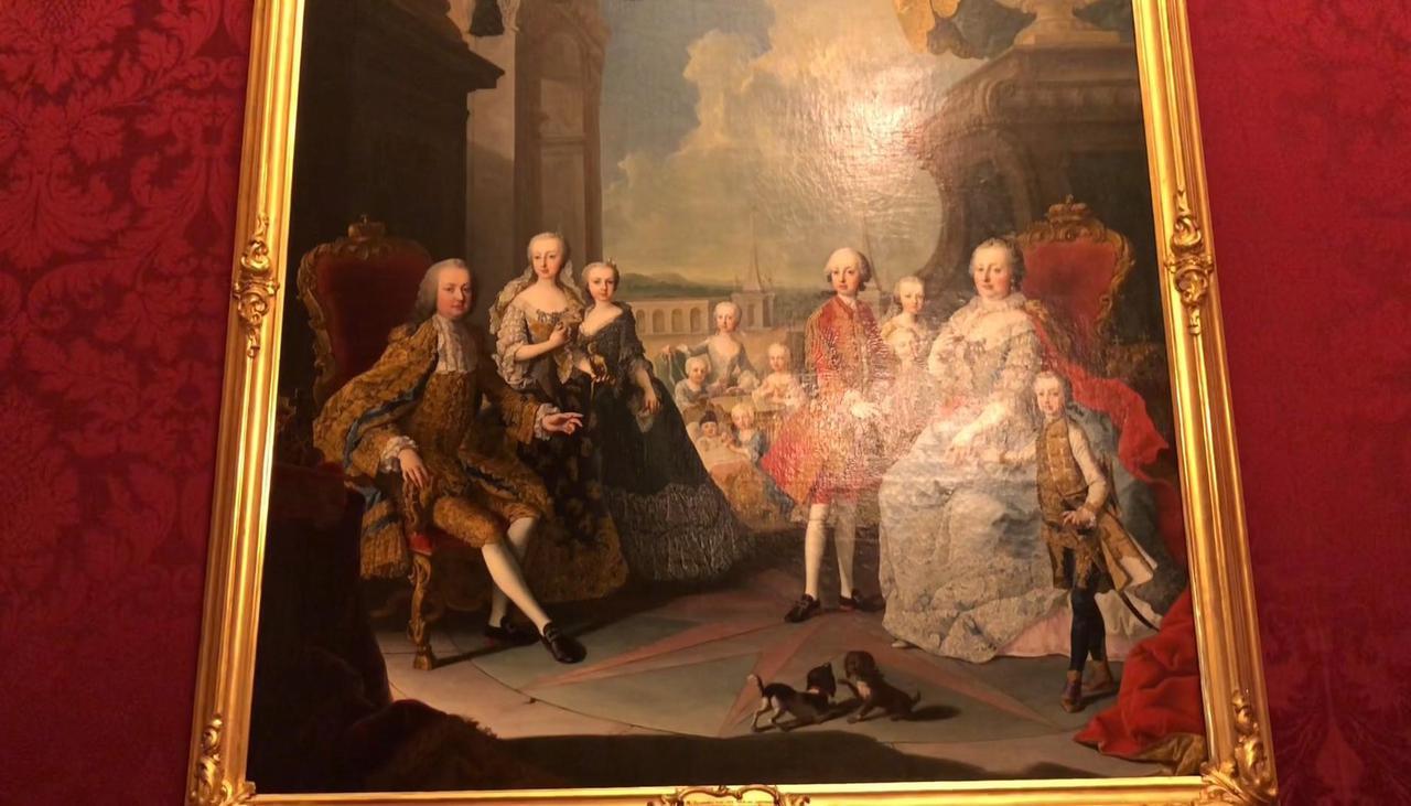 画像: ハプスブルク家の肖像画(イメージ)