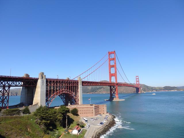 画像: サンフランシスコ(ゴールデンゲートブリッジ)
