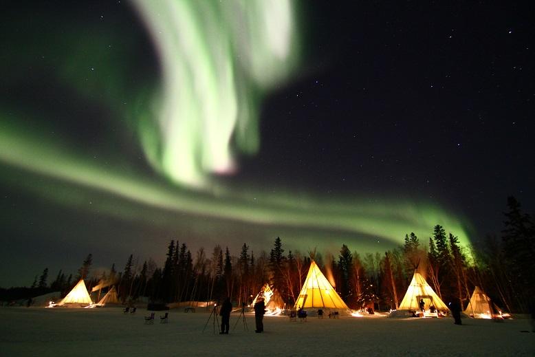 画像: カナダのオーロラ観賞ツアー・旅行|クラブツーリズム