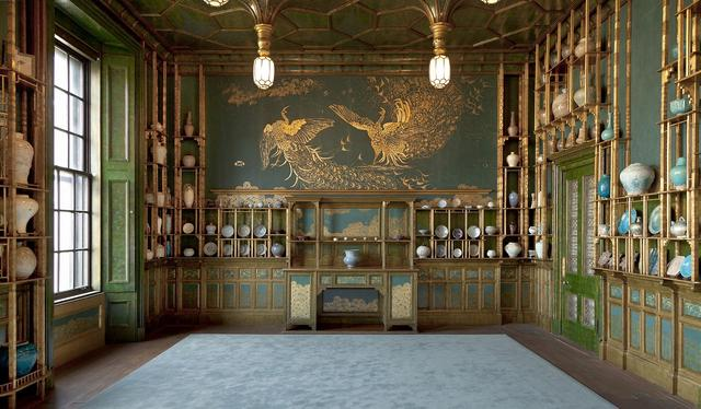 画像: 「ピーコックルーム」ジェームス・マクニール・ホイッスラー・フリーア美術館 F1904.61