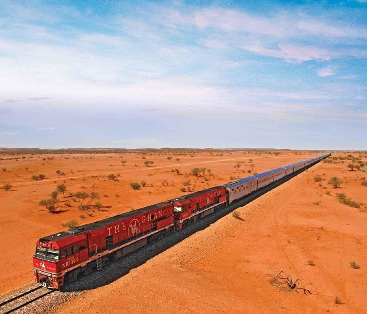 画像: 車両の長さが最長1km(!)にもなるザ・ガン号