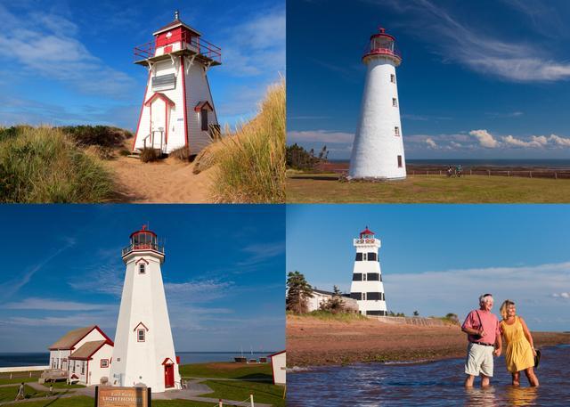 画像: 海辺に建つ灯台たち ©TourismPEI