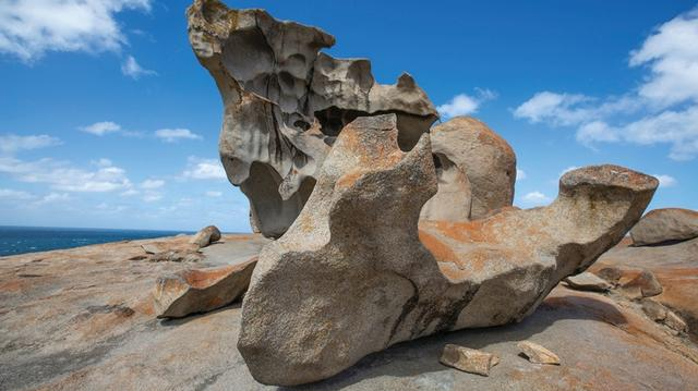 画像: 巨大な自然のオブジェ「リマーカブルロックス」 southaustralia.com