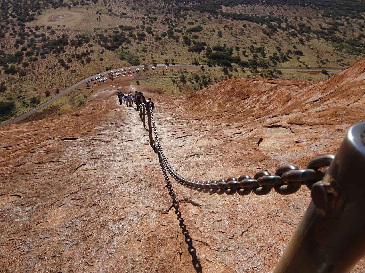 画像2: ③鎖を使って登頂しよう!