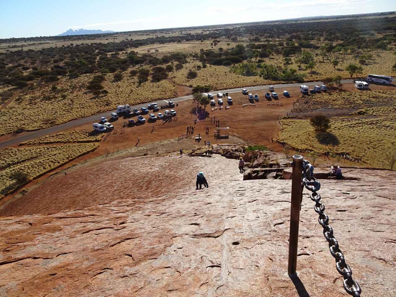 画像2: ②登り始めは鎖なしの道