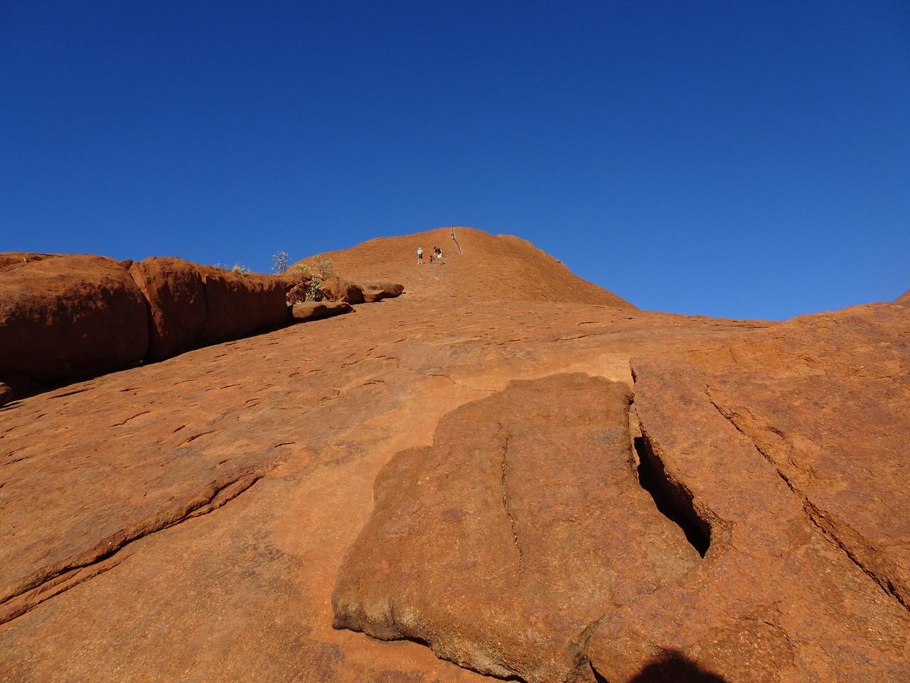 画像1: ②登り始めは鎖なしの道
