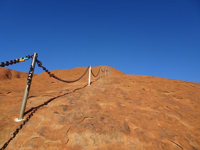 画像1: ③鎖を使って登頂しよう!